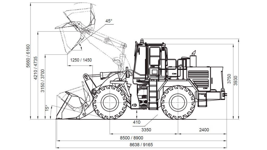 Технологическая схема Амкодор 371А-02 и Амкодор 371А-01