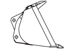 Ковш ТО-28.60.02.000 (V= 1.9 м3)