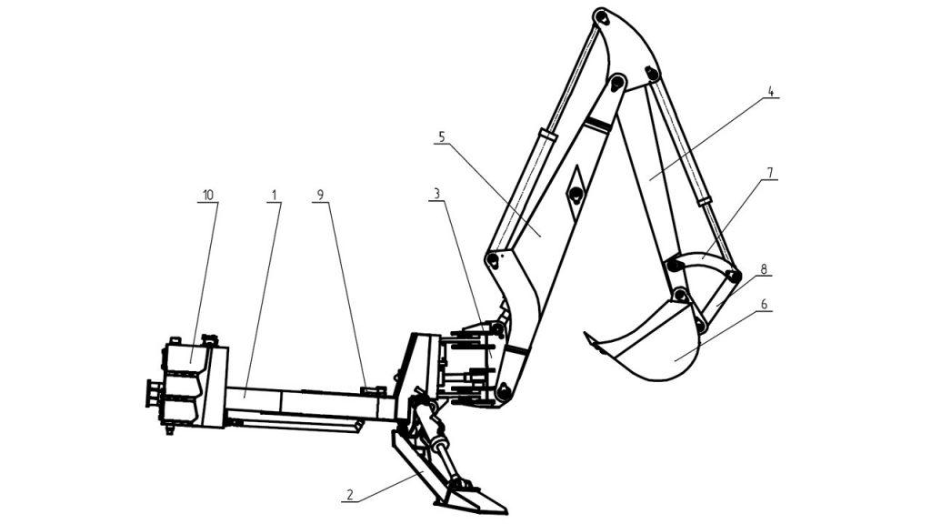 экскаваторное оборудование Амкодор 702ЕА