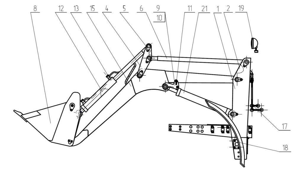 Погрузочное оборудование Амкодор 702ЕА