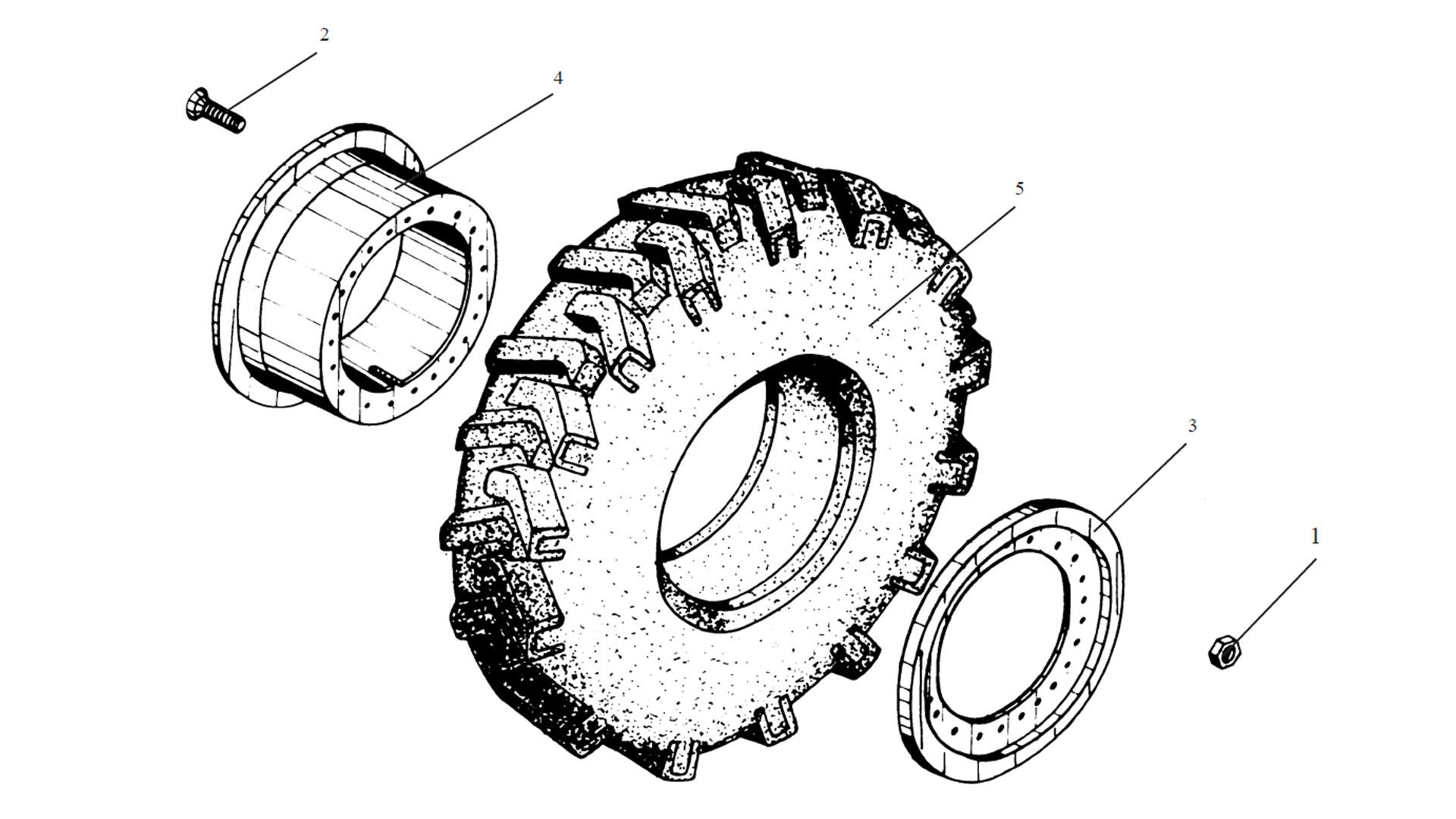 Колесо ТО-18Б.05.09.000