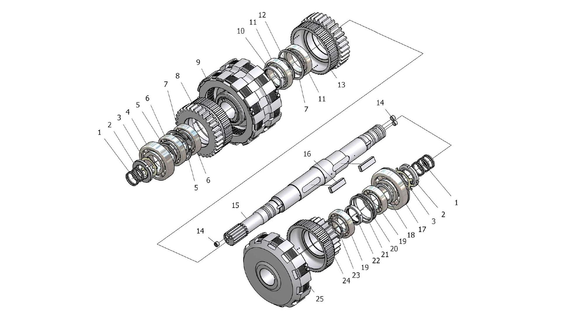 Вал турбинный У35615-01.050