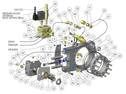 Автоматический натяжитель цепи KESLA 25RHII(RHS)