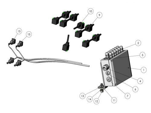 Электронное оборудование KESLA 25RHII(RHS)