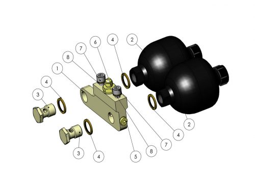 Гидроаккумуляторы KESLA 25RHII(RHS)