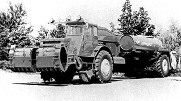 Аэродромно-уборочная машина ДЭ-224А 1981 г.