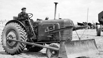 Опытный образец к трактору Беларус