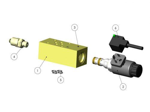 Клапан пропорциональный (Procon) KESLA 25RHII(RHS)