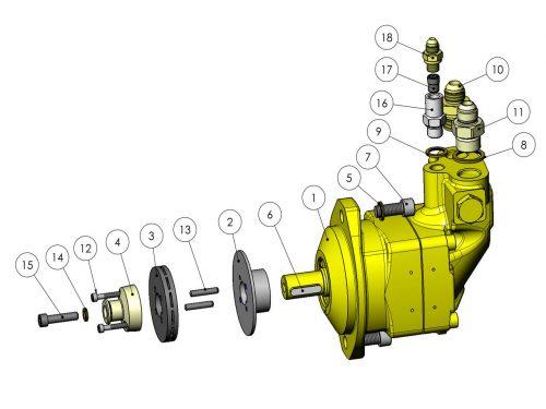 Мотор пилы 19 см³ KESLA 25RHII(RHS)