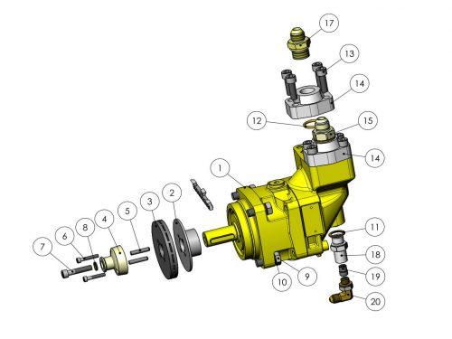 Мотор пилы 30 см³ KESLA 25RHII(RHS)