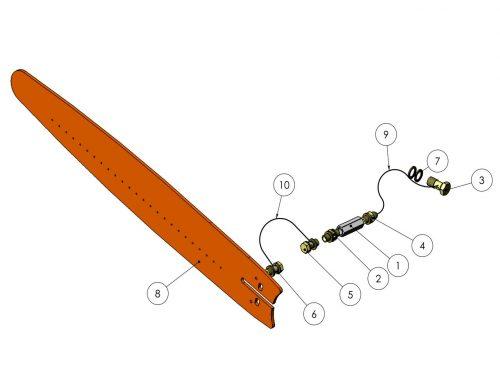 Обработка пней (опция) KESLA 25RHII(RHS)
