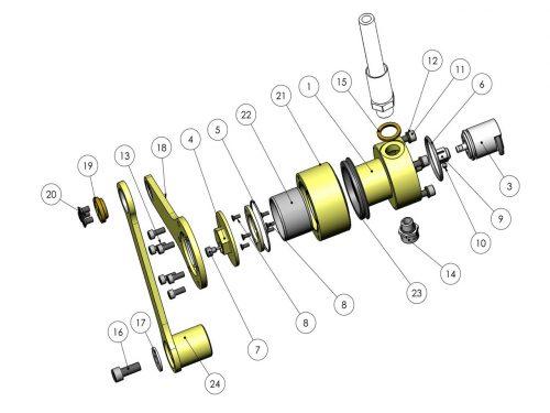 Устройство отслеживания положения шины KESLA 25RHII(RHS)